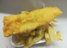 Lowford Fish Bar in Bursledon Fish and Chips